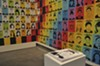 "Oree Originol's site-specific installation of his ongoing ""Justice For Our Lives"" series in <i>Take This Hammer.</i>"
