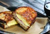 Maison Bleue puts the crunch in <i>croque monsieur</i>.