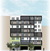 The 40-unit 632 14th Street was the only affordable housing project issued a building permit in Oakland in 2016.
