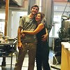 Rose's Taproom co-owners Luke Janson and Hillary Rose Huffard, pictured earlier this month.