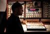 DJ Shadow in his home studio.
