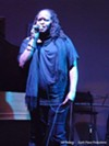 An artist performs at The Sound Room.