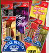 "Flavored blunt wrappers manufactured by New Image Global including ""Chicken & Waffles."""