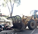 City of Oakland 'Bulldozer' Hit A Homeless Man While He Was Sleeping In A Tent