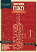 Food Truck Frenzy: Reds, Whites & Blues