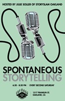 Spontaneous Storytelling at The Layover - win drinks & prizes! Free!