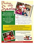 Paws In Need Photos With Santa