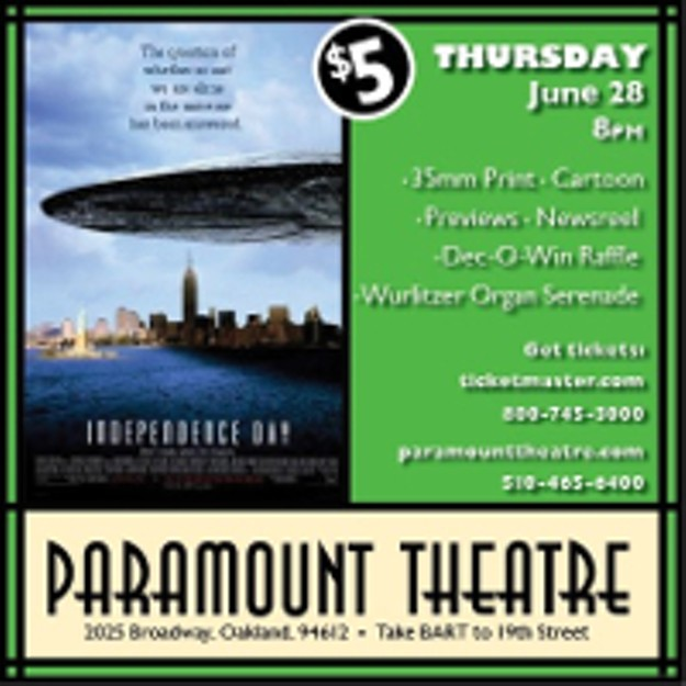 Win Tickets to Independence Day at Paramount Theatre | Paramount ...