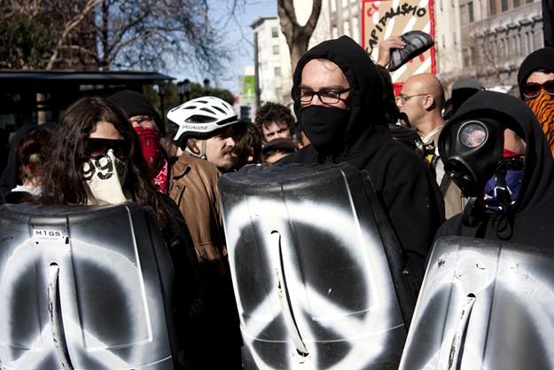 Occupy Oakland, January 28