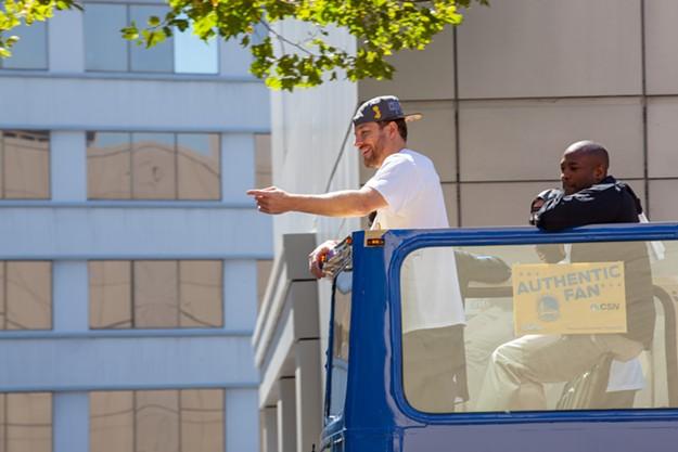 2015 Golden State Warriors Championship Parade
