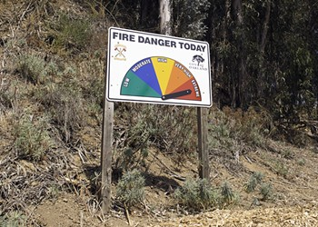 The Social Costs of Living in Wildfire-Prone Areas