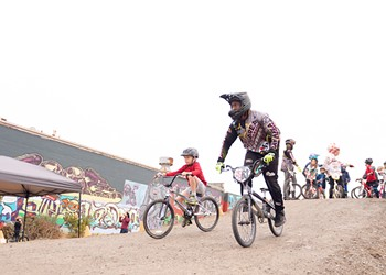 With Dirt World, Richmond Gets a BMX Bike Park