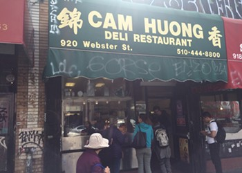 Cam Huong in Oakland Chinatown Closing Today