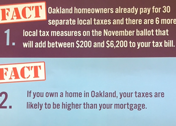 Oakland Councilmember Kalb Files Ethics Complaint Against Conservative Anti-Tax Group Over Mailers