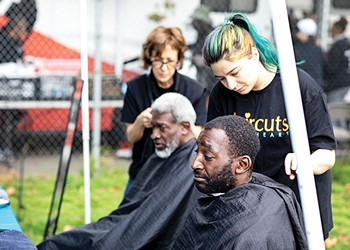 Haircuts with Heart Provides Free Haircuts to the Homeless