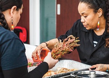 Three Indigenous Women Chefs Collaborate at Nourished