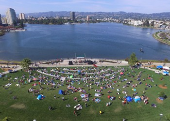 Oakland's Eastlake Music Festival at Lake Merritt