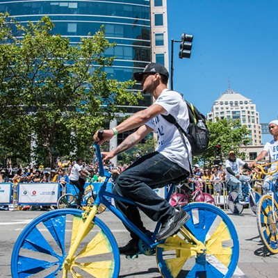 Warriors' 2018 Championship Parade in Oakland
