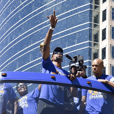 Warriors 2017 Championship Parade and Rally in Oakland