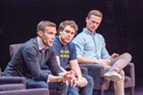 PHOTO COURTESY OF CROOKED MEDIA - Jon Favreau, Jon Lovett, and Tommy Vietor.