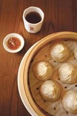 PHOTO BY LANCE YAMAMOTO - The pinched dumplings at Din Ding Dumpling House are memorable.
