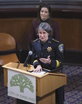 PHOTO BY ROSS D. CAMERON - Police Chief Anne Kirkpatrick.