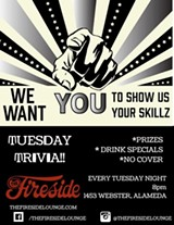Trivia Night at The Fireside - Uploaded by The Fireside Lounge