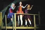 Melanie Dupuy as Goody, Amanda Farbstein as Susan, and Sarah Mitchell as Packer.