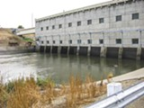 PHOTO BY  USFWS PHOTO/JOHN RIDILLA - Pumping plants like this one near Tracy consume small salmon.