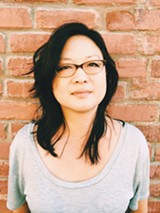 FOR THE CAUSE:  Oaklandish CEO, Angela Tsay, gives back to The Town.