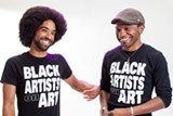 BERT JOHNSON - Unity Lewis (left) and Trevor Parham hope to create better representation for Black artists in Oakland and beyond by providing an accessible platform for artists to share their work and insights.