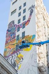 BERT JOHNSON - Ziegler's mural in downtown.