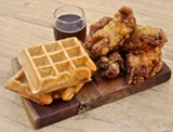 THE HALF ORANGE - Waffles and necks.