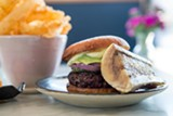 BERT JOHNSON - Ultimately, this is an unfussy burger that's meant to be enjoyed, not analyzed.