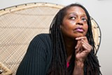 BERT JOHNSON - Ayodele Nzinga produces plays that often overlap with real life.