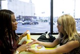 Mya Taylor (left) and Kitana Kiki Rodriguez star in Tangerine.