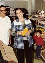 LA BORINQUEÑA - Antonio and Natividad Ramos — Tina's parents — at La Borinqueña in 1977.