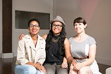 BERT JOHNSON - Alyah Baker, Terry Sok, and Julia Wolfson host queer events at Qulture Collective.