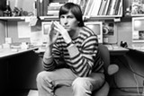 A young Steve Jobs.