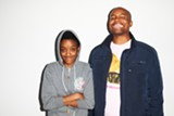 Syd tha Kyd (L) and Mat Martians of The Internet.