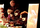 BLACK SWAN ARTS - In The Prepared Table, audiences are immersed in a multimedia dining party performance.