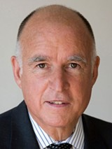 Gov. Jerry Brown.
