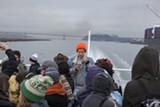 MATT SHAPIRO - Constance Hockaday gave a guerilla radio tour of San Francisco Bay from a public ferry.