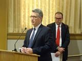 DARWIN BONDGRAHAM - Chase executives addressed the Oakland City Council on Tuesday.
