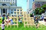COURTESY THE OPEN WORKSHOP/OUR CITY - A rendering of work at the Oakland Public Design Fair.