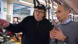 Michael Moore's new documentary, Where to Invade Next, opens Friday.