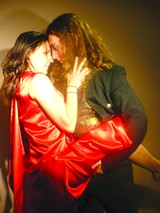 COURTESY PIEDMONT REPERTORY THEATRE - A scene from Blood Tango.