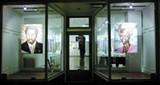 COURTESY JOYCE GORDON - An exterior installation view of Ancestral Portals.