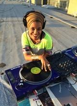 DJ Lady Ryan.