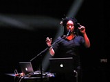 THOMAS STEENLAND - Pamela Z creates awe-inspiring vocal arrangments using a gesture-activated MIDI controller.